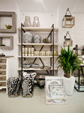 Home decorations shop interior Royalty Free Stock Photography
