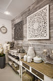 Home decorations shop interior Stock Photography