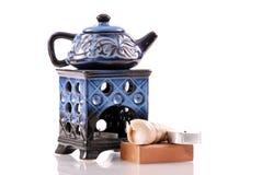 Home Decorative Oil Burner Stock Photo