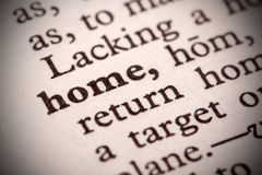 Home Definition Stock Images