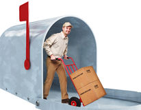 Home delivery Royalty Free Stock Images