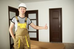 Home delivery concept royalty free stock images