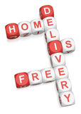 Home Delivery Is Free Stock Images