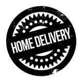 Home Delivery rubber stamp Stock Image