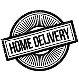 Home Delivery rubber stamp Stock Images