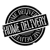 Home Delivery rubber stamp Stock Photography