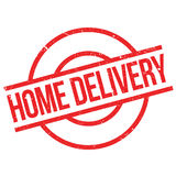 Home Delivery rubber stamp royalty free illustration