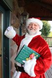 Home Delivery Santa Royalty Free Stock Image