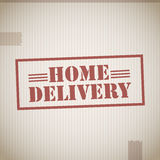 Home delivery Stock Images