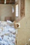 Home demolition debris Stock Photography