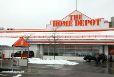 Home Depot Photographie stock libre de droits