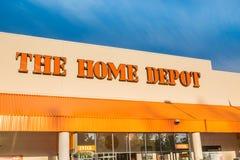 Home Depot stockfotos