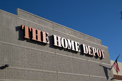 Home Depot Fotografia Stock