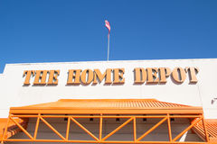 Home Depot Obrazy Stock