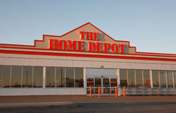 Home Depot Royaltyfria Foton