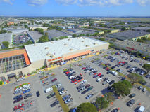 Home Depot aerial photo Stock Photos