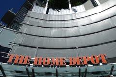 Home Depot armazena o logotipo Imagem de Stock