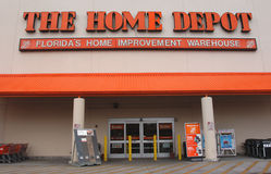 Home depot cuts 7000 jobs and closing stores. Home depot fires 7000 employees and closing stores Stock Photography