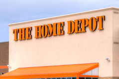 The Home Depot Exterior Royalty Free Stock Photography