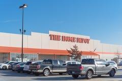 Home Depot hänrycker Irving, Texas Royaltyfria Foton