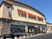 Home Depot hemförbättringlager Royaltyfria Foton