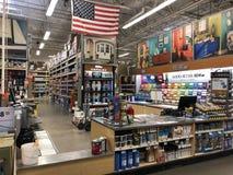 Home Depot hemförbättringlager Arkivfoto