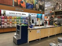 Home Depot-het Huisverbetering Opslag royalty-vrije stock foto