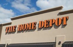 Home Depot lagrar Royaltyfri Fotografi