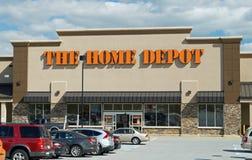 Home Depot lagrar Arkivbild