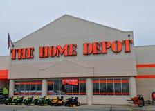 Home Depot przechuje obraz stock