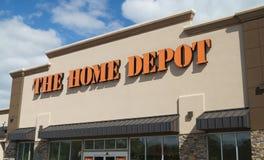 Home Depot przechuje Fotografia Stock