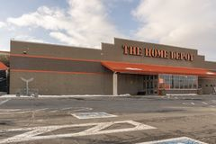 Home Depot Store stock images