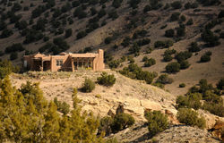 Home in the desert Royalty Free Stock Photo