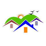 Home design stock illustrationer