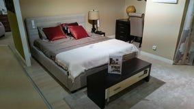 Home design: furnished bedroom Royalty Free Stock Images