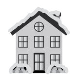 Home design. Over white background, vector illustration Royalty Free Stock Image