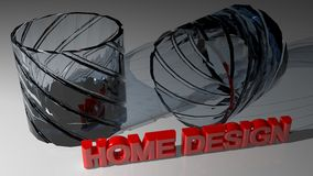 Home design Royalty Free Stock Photo
