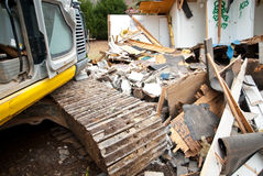 Home Destruction/Equipment Royalty Free Stock Photo