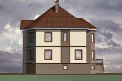Home di modello Fotografia Stock