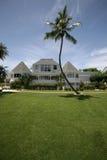 HOME dianteira da propriedade da praia Fotografia de Stock