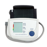 Home digital blood pressure monitor or tonometer Stock Image