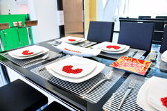 Home dining area Stock Photography