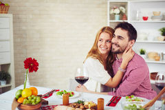 Home dinner Royalty Free Stock Photography