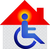 Home disable Stock Image