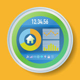 In Home Display, Smart Home Monitor, Smart Meter Stock Images