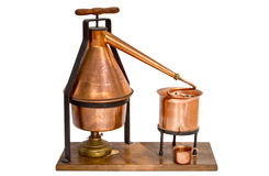Home distillation equipment royalty free stock photos