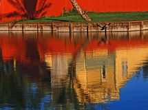 HOME do beira-rio Foto de Stock Royalty Free