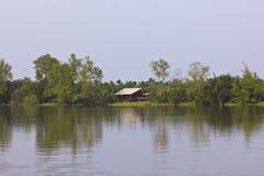 HOME do beira-rio em Tailândia Fotografia de Stock
