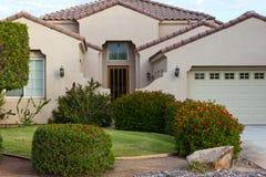 HOME do campo de golfe de Palm Spring Foto de Stock