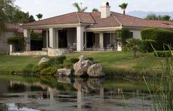 HOME do campo de golfe de Palm Spring Imagens de Stock
